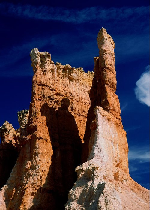 Bryce Canyan Greeting Card featuring the photograph Bryce Canyon 8 by Art Ferrier
