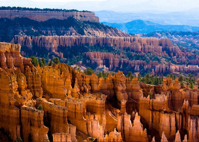 Bryce Canyon Greeting Card featuring the photograph Bryce Canyon by James BO Insogna