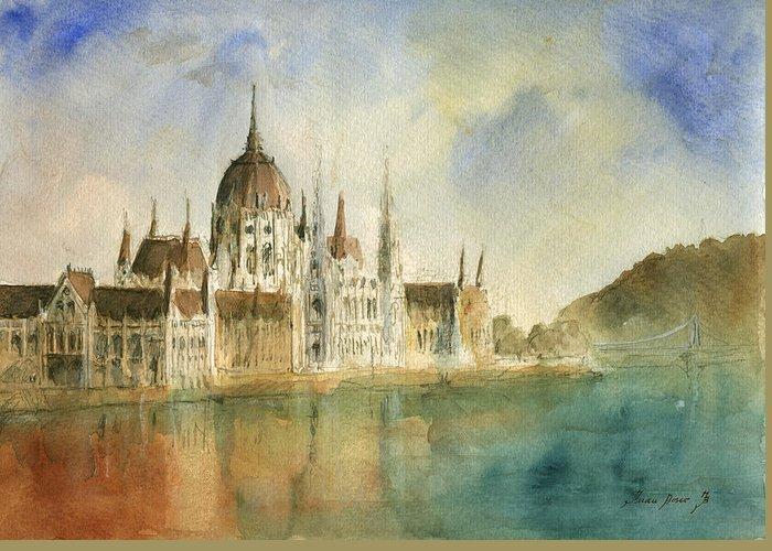 Danube Greeting Cards