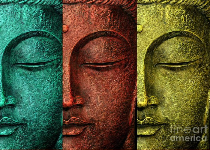 Budhism Greeting Cards