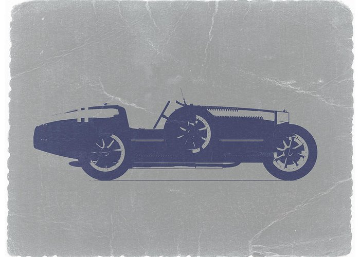 Bugatti Classic Car Greeting Cards