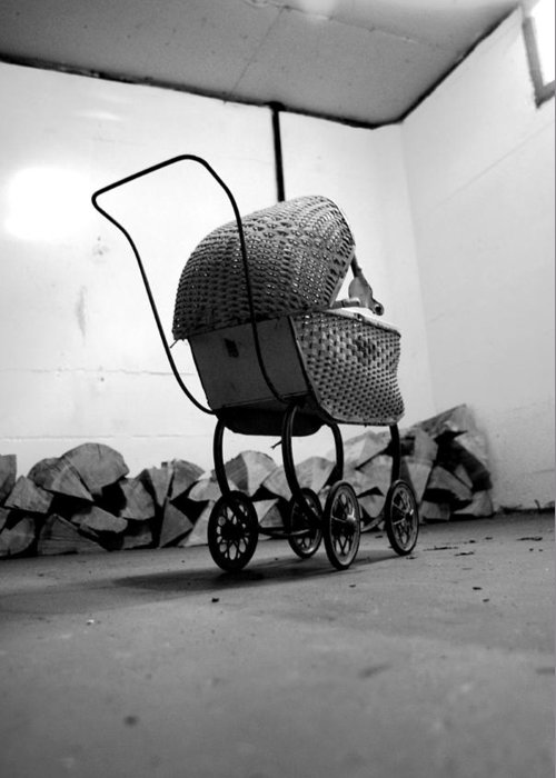 Baby Greeting Card featuring the photograph Buggy by Tom Melo