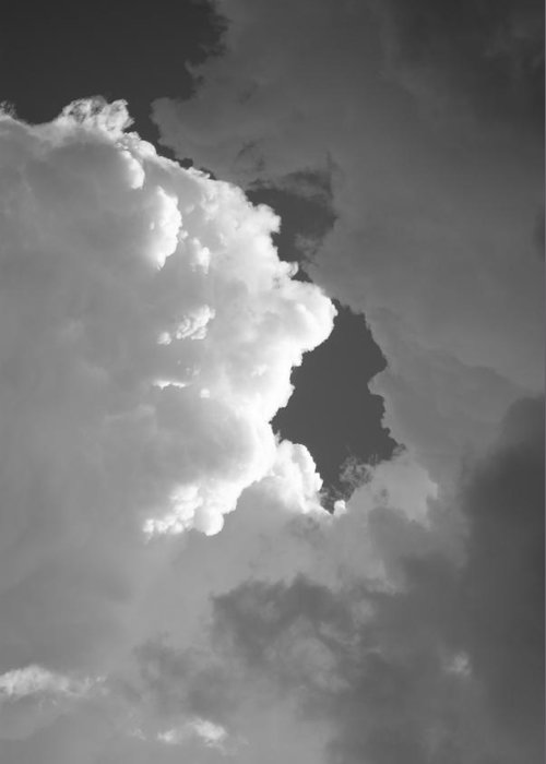 Sky Greeting Card featuring the photograph Building Storm II by Brian Anderson
