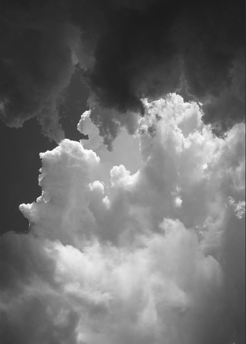 Clouds Greeting Card featuring the photograph Buliding Storm by Brian Anderson