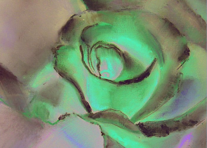 Pastel Greeting Card featuring the pastel By Any Other Name by Paul Autodore