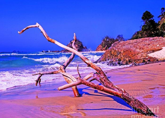 Australia Greeting Card featuring the photograph Byron Beach Australia by Chris Smith