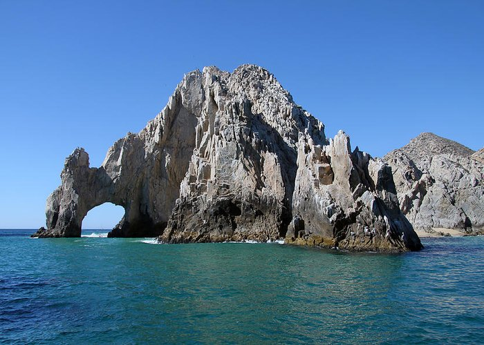 Landscape Greeting Card featuring the photograph Cabo San Lucas by Lita Kishbaugh