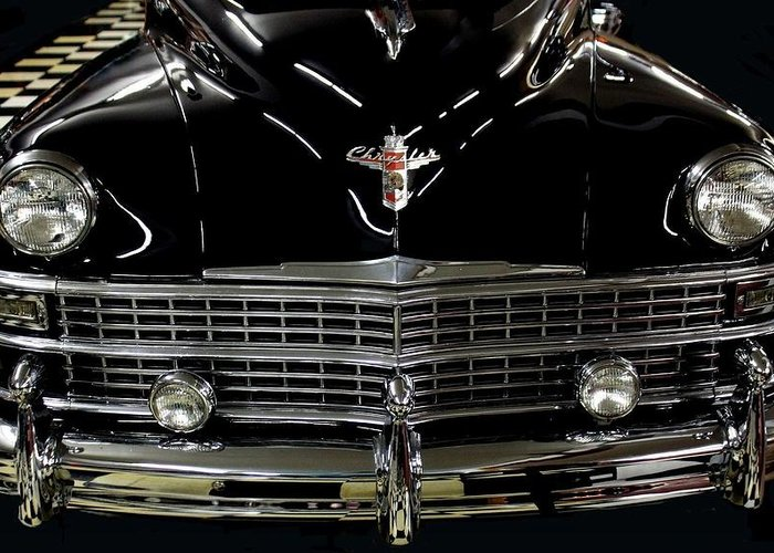 Cadillac Greeting Card featuring the photograph Cadillac Classic by Rosanne Jordan