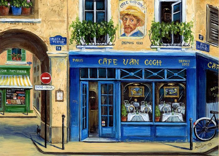 Rue Lepic Greeting Cards