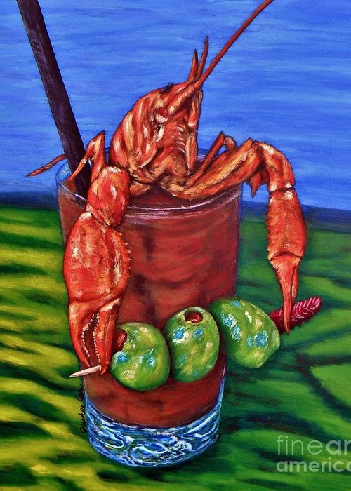 Bloody Mary Greeting Cards