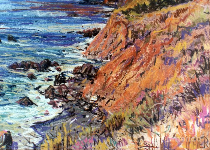 Big Sur Drawings Greeting Cards