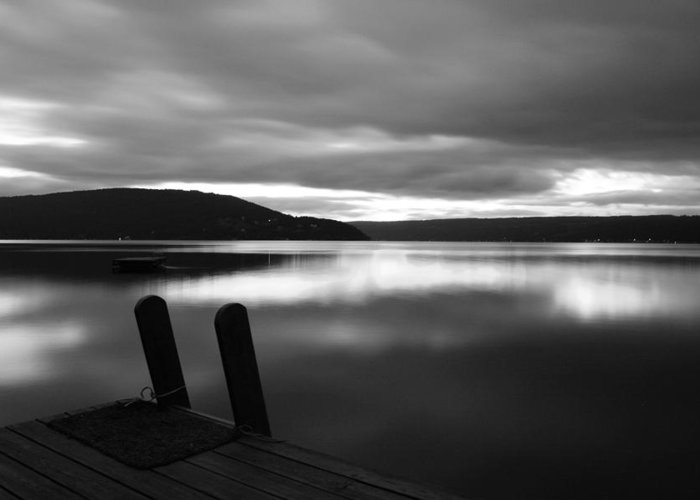 Lake Greeting Card featuring the photograph Calm Before The Storm by Steven Ainsworth
