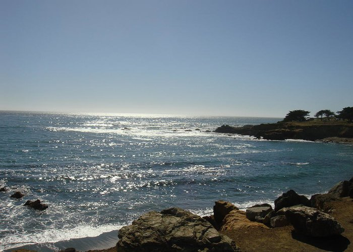 Cambria Greeting Card featuring the photograph Cambria Coast by Melissa KarVal