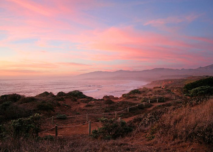 Cambria Greeting Card featuring the photograph Cambria by Michael Rock