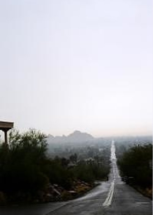 Camelback Greeting Card featuring the photograph Camelback Trail by Kevin Igo