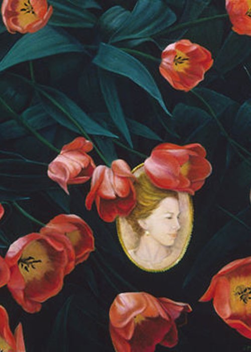 Oil Painting Greeting Card featuring the painting Cameo by Nancy Ethiel