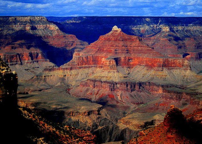 Gorge Greeting Card featuring the photograph Canyon Layers by Christopher Kirby