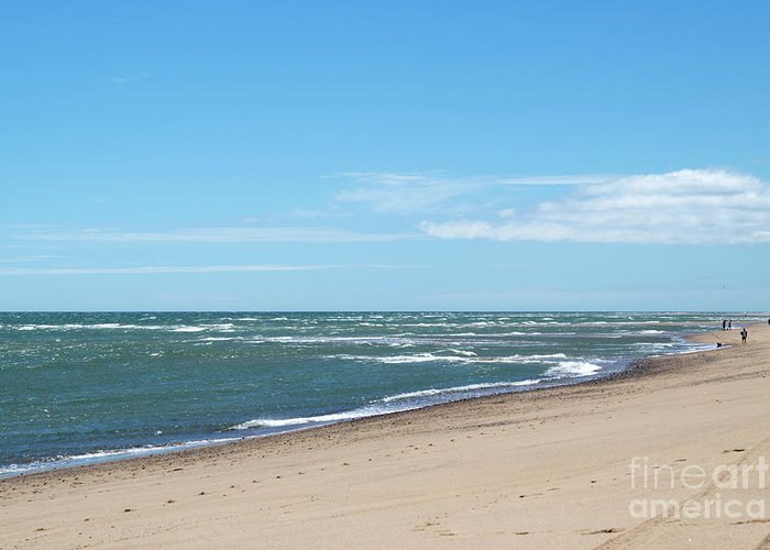 Cape Cod Greeting Card featuring the photograph Cape Cod Beach by Michelle Himes