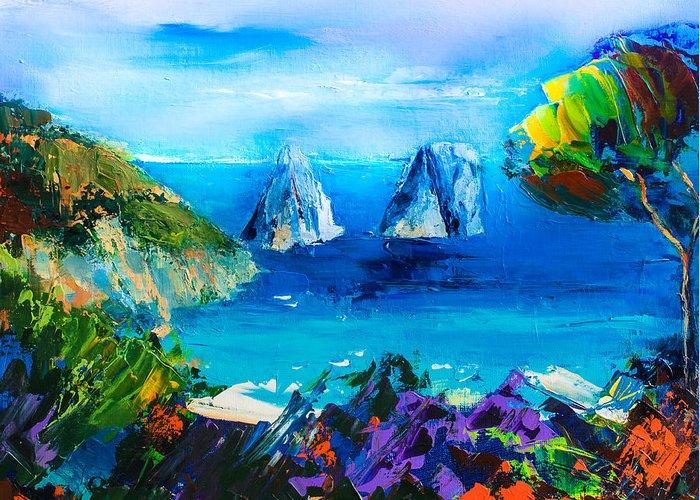 Beautiful Vistas Paintings Greeting Cards