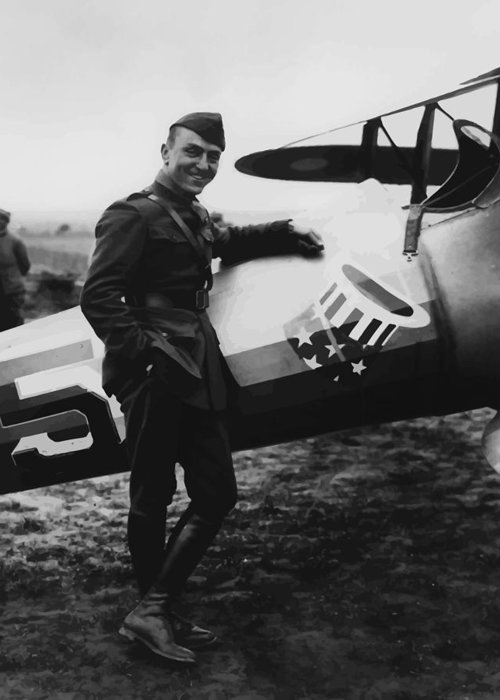 Eddie Rickenbacker Greeting Cards