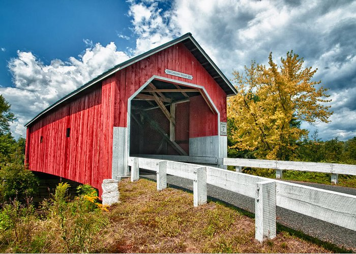 New England Covered Bridges Greeting Cards
