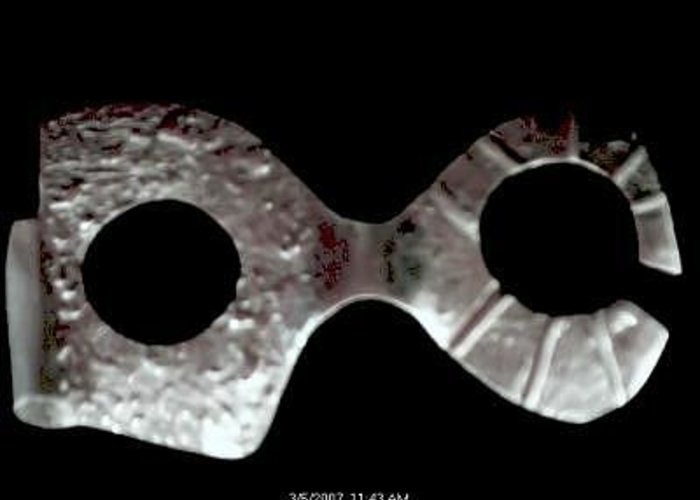 Carnival Type Face Mask For Wearing In .999 Fine Silver Greeting Card featuring the photograph Carnival 002 by Robert aka Bobby Ray Howle