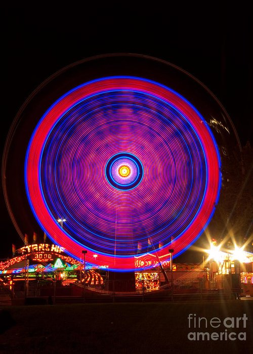 Carnival Images Greeting Card featuring the photograph Carnival Hypnosis by James BO Insogna