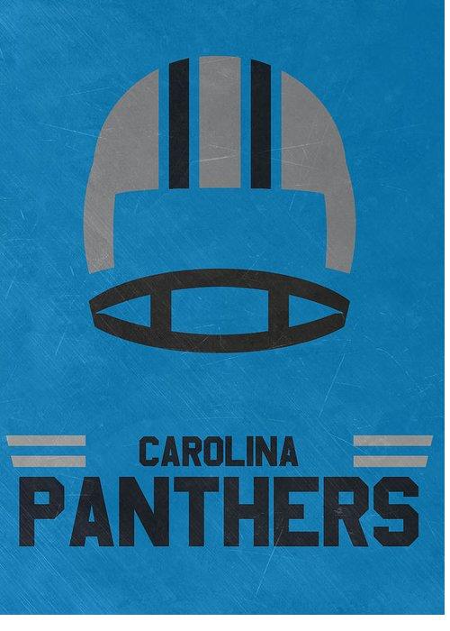 81f1d569187 Carolina Panthers Greeting Cards