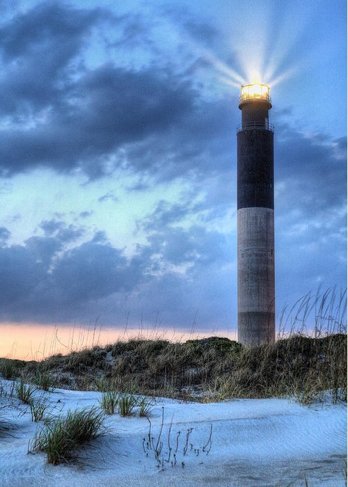 Oak Island Greeting Card featuring the photograph Carolina Perfect by JC Findley