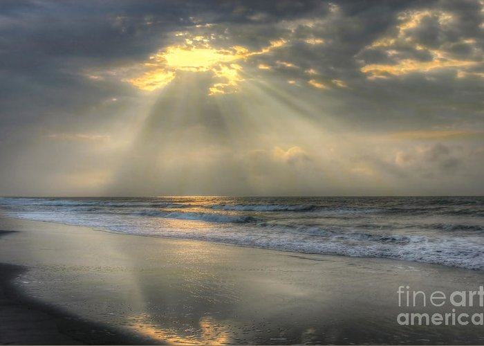 Sunrise Greeting Card featuring the photograph Carpe Diem by Jeff Breiman