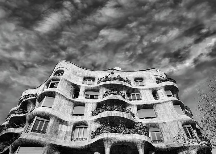 Casa Mila Greeting Cards