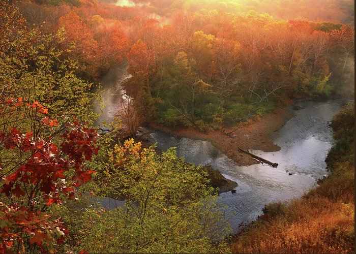 Greeting Card featuring the photograph Cascade Valley Sunrise by Rob Blair