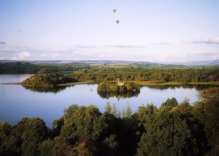 Adventure Sports Greeting Card featuring the photograph Castleisland Lough Key Forest Park by The Irish Image Collection
