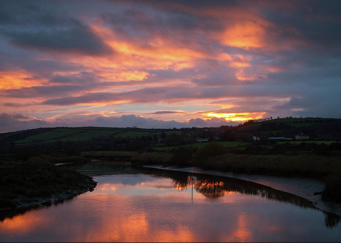 Castlemaine Greeting Card featuring the photograph Castlemaine December Dawn by Mark Callanan