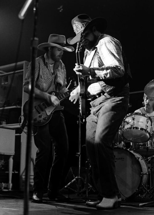 Charlie Daniels Greeting Card featuring the photograph Cdb Winterland 12-13-75 #2 by Ben Upham