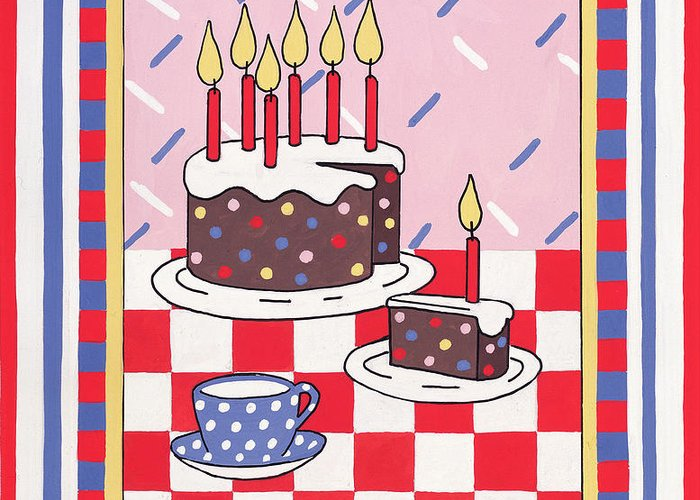 Frosting Drawings Greeting Cards