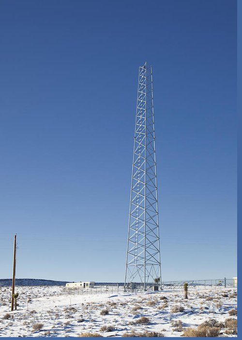 Cellphones Greeting Card featuring the photograph Cellphone Tower by David Buffington