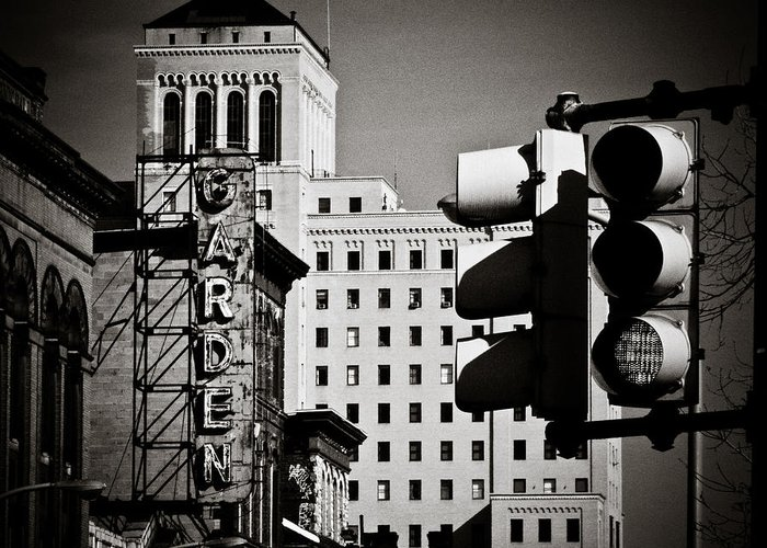 Pittsburgh Greeting Card featuring the photograph Central Northside by Jessica Brawley