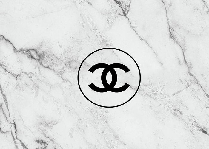 Chanel Art Print Greeting Card Featuring The Painting