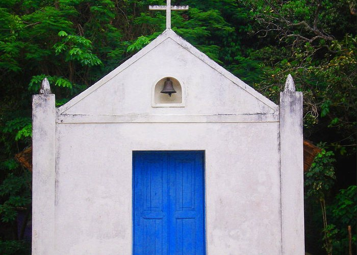 Chapel Greeting Card featuring the photograph Chapel by Amarildo Correa