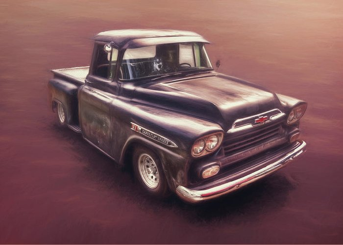 Vintage Chevrolet Truck Greeting Cards