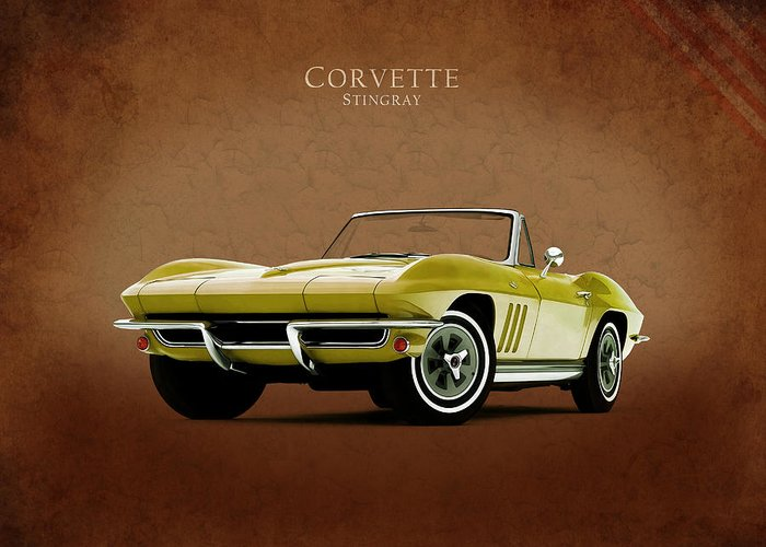 Corvette Greeting Cards