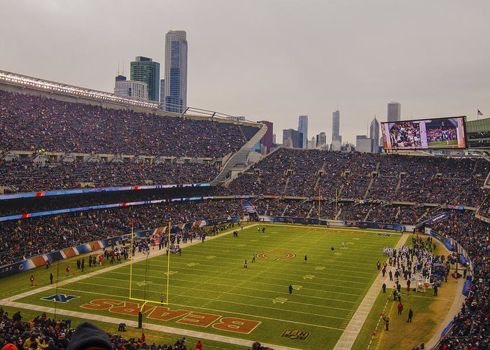 Discount Chicago Bears Soldier Field 7759 Greeting Card for Sale by David  IgqoVYvh