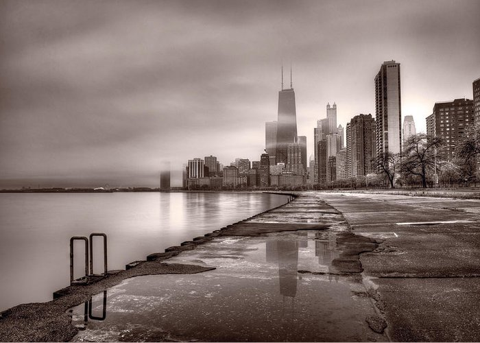 Chicago Reflections Greeting Cards