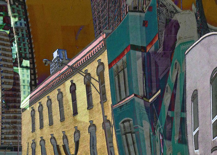 Greeting Card featuring the photograph Chicago by Susan Phillips