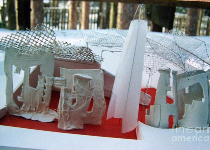 Architecture Greeting Card featuring the photograph Children Museum by Geraldine Liquidano