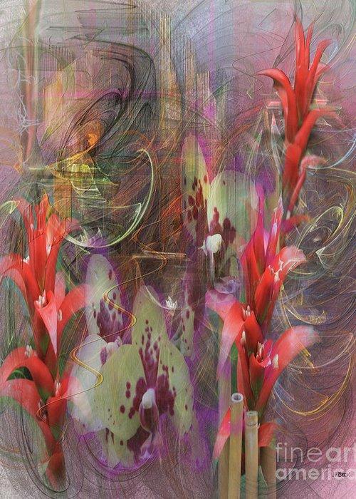 Chosen Ones Greeting Card featuring the digital art Chosen Ones by John Beck