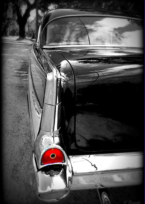 Car Greeting Card featuring the photograph Christine by Leslie Revels