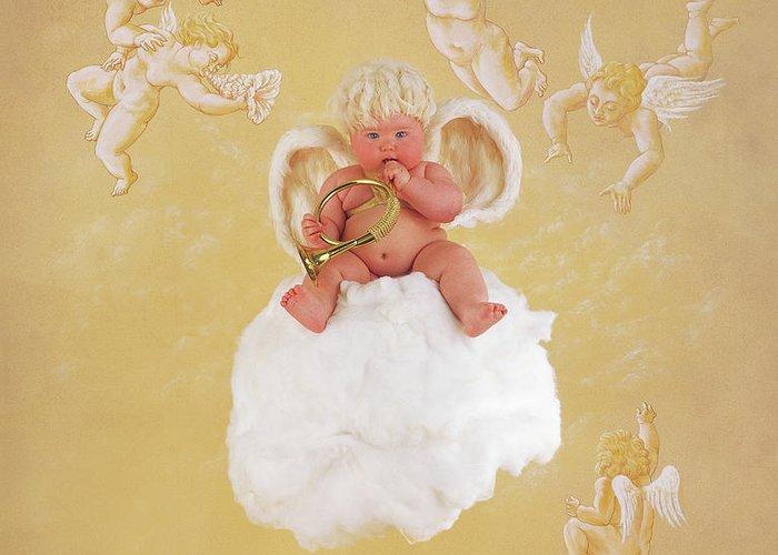 Christmas Angel.Christmas Angel Greeting Card