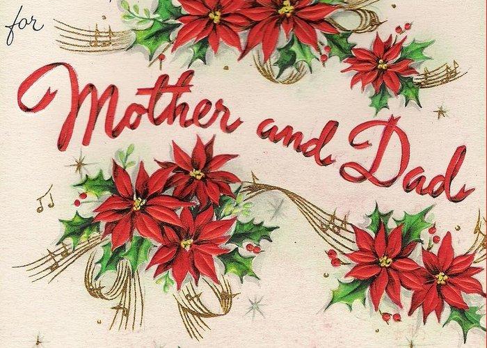 Christmas Wishes Card.Christmas Greetings 360 Christmas Wishes For Mother And Dad Greeting Card